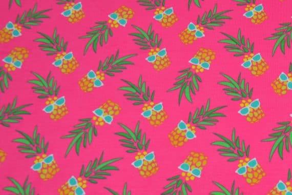stoff-jersey-ananas