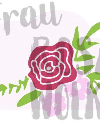 plotterdatei-rose